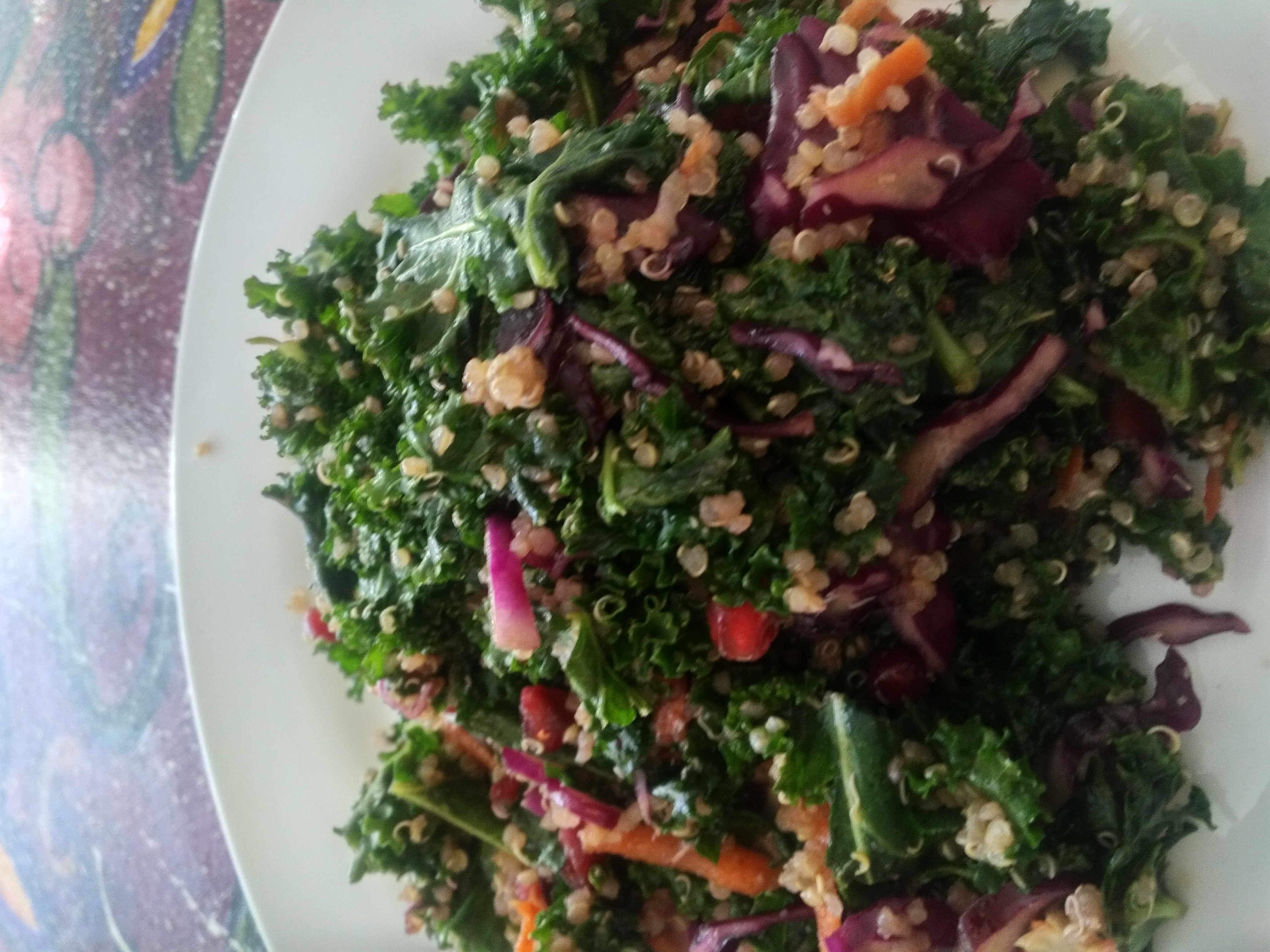 Chef's Kale Salad  NEW RECIPE GF DF V