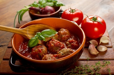 Turkey Marinara Meatballs GF DF