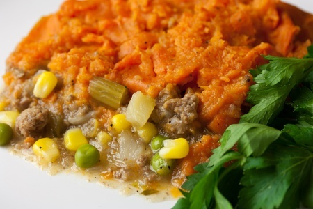 Sweet Potato Beef Shepherd's Pie FAMILY  4 Servings GF