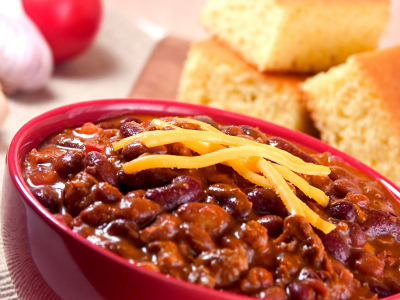 Turkey Chili, 4 SERVINGS FAMILY GF DF