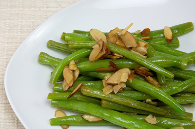 Almond Green Beans GF DF V