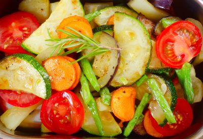 Roast Mixed Vegetables FAMILY 750 g. GF DF V