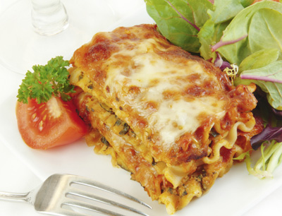 Tuscan Vegetable Lasagne, 4 SERVINGS FAMILY