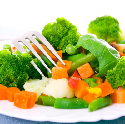 Steamed Mixed Vegetables FAMILY 750 g. GF DF V